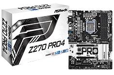 ASRock Z270 Pro4 Motherboard
