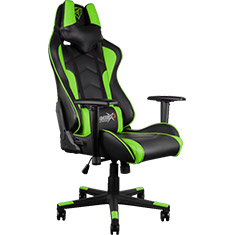 Aerocool ThunderX3 TGC22 Gaming Chair Black Green