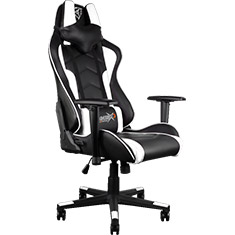 Aerocool ThunderX3 TGC22 Gaming Chair Black White