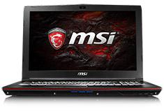 MSI GP62 Leopard 15.6in Core i7 Gaming Notebook [7RD-016AU]