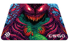 SteelSeries QcK+ CS:GO Hyper Beast Edition