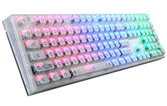 Cooler Master Masterkeys Pro L RGB Crystal Edition Cherry Brown