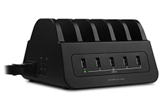 mbeat GorillaPower Dock 5 Port 60W USB Charging Dock