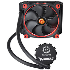Thermaltake Water 3.0 Riing Red 140 All-In-One Liquid Cooling