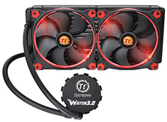 Thermaltake Water 3.0 Riing Red 280 All-In-One Liquid Cooling