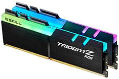 G.Skill Trident Z RGB F4-3000C15D-16GTZR 16GB (2x8GB) DDR4