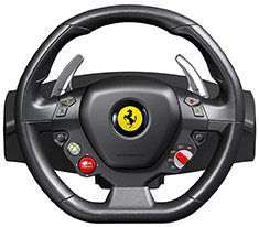 Thrustmaster Ferrari 458 Italia Racing Wheel For PC & Xbox 360