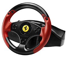 Thrustmaster Ferrari Red Legend Edition Racing Wheel For PC/PS3