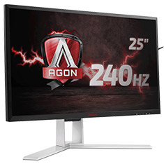 AOC AGON AG251FZ 25in 240Hz FreeSync FHD Gaming Monitor