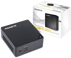 Gigabyte BKI7HA-7500 BRIX 7th Gen Core i7 Ultra Compact PC