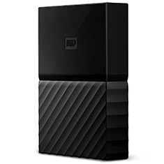 Western Digital WD My Passport Portable HDD 4TB Black