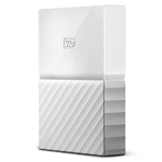 Western Digital WD My Passport Portable HDD 4TB White