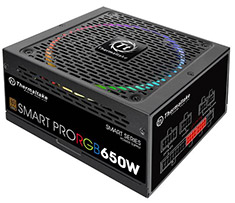 Thermaltake Smart Pro RGB 650W Bronze Fully Modular Power Supply