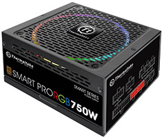 Thermaltake Smart Pro RGB 750W Bronze Fully Modular Power Supply
