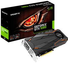 Gigabyte GeForce GTX 1080 Turbo OC 8GB