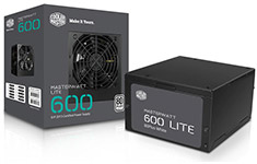 Cooler Master MasterWatt Lite 600W Power Supply