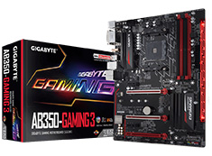Gigabyte AB350 Gaming 3 Motherboard