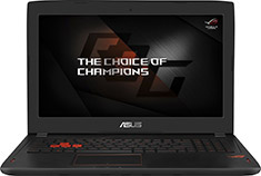ASUS ROG Strix GL502VS 7th Gen i7 15.6in FHD Gaming Notebook