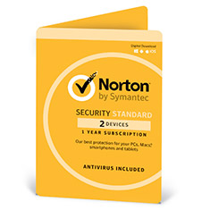 Norton Security Standard OEM 2 Devices 1 Year