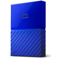 Western Digital WD My Passport 1TB 2.5in External HDD Blue