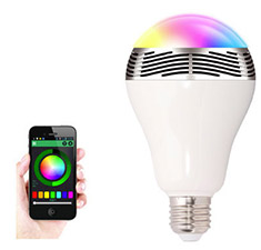 BSR Smart LED Bulb with Built-In Bluetooth Speaker