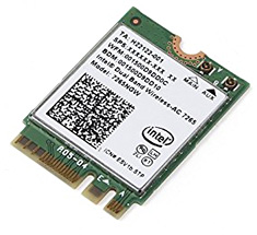 Intel Dual Band Wireless-AC 7265 M.2 Network Adapter