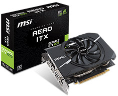 MSI GeForce GTX 1070 Aero ITX OC 8GB