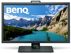 BenQ SW320 31.5in 4K HDR Photographer Monitor