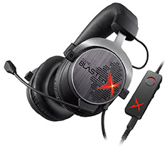 Creative Sound BlasterX H7 HD 7.1 Surround Gaming Headset