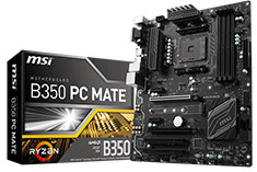 MSI B350 PC Mate Motherboard