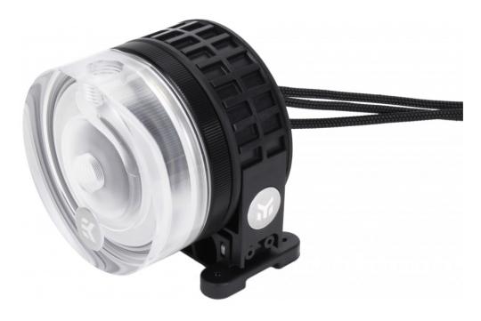 EK-XTOP Revo D5 PWM Plexi incl sleeved pump
