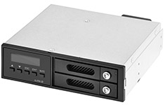 SilverStone FSR202 Front Panel Dual 2.5in HDD Bay
