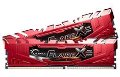 G.Skill Flare-X F4-2400C15D-16GFXR (2x8GB) Ryzen DDR4