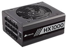 Corsair HX1000 1000W 80 Plus Platinum Power Supply