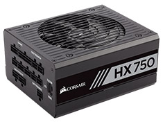 Corsair HX750 750W 80 Plus Platinum Power Supply