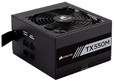 Corsair TX550M Gold 550W Power Supply