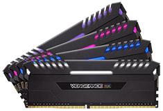 Corsair Vengeance RGB CMR32GX4M4C3000C15 32GB (4x8GB) DDR4