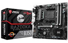 MSI B350M Bazooka Motherboard