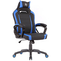 N Seat Pro 300 Series Ergonomic Gaming Chair Black/Blue