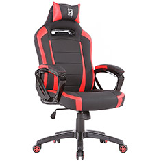 N Seat Pro 300 Series Ergonomic Gaming Chair Black/Red