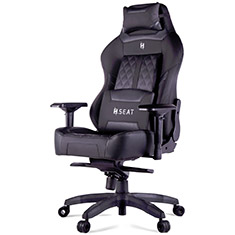 N Seat Pro 600 Series Ergonomic Gaming Chair Black