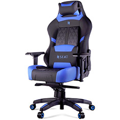 N Seat Pro 600 Series Ergonomic Gaming Chair Black/Blue