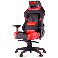 N Seat Pro 600 Series Ergonomic Gaming Chair Black/Red
