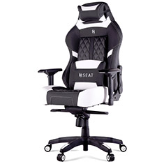 N Seat Pro 600 Series Ergonomic Gaming Chair Black/White