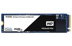 Western Digital Black 512GB M.2 2280 NVMe SSD