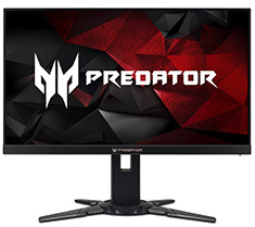 Acer Predator XB2 24.5in 240Hz G-Sync Gaming Monitor