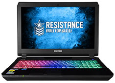 Resistance VR Enforcer Core i7 15.6in Gaming Notebook