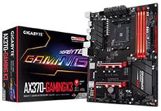 Gigabyte AX370 Gaming K3 Motherboard