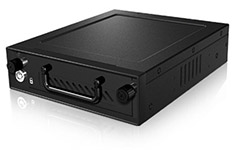 Icy Box IB-148SSK-B 3.5in Mobile Rack