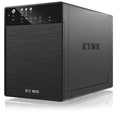 ICY BOX IB-3640SU3 External 4 Bay Hard Drive Enclosure